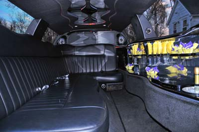 Lincoln Town Car Limo Interior
